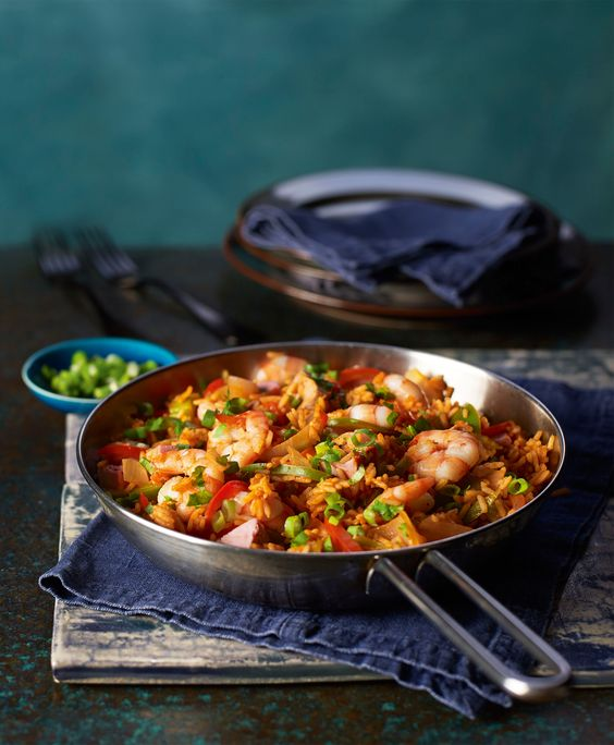 SW recipe: shrimp and ham jambalaya