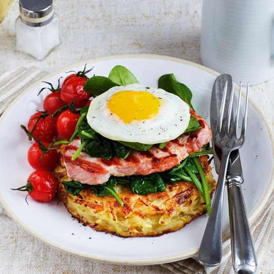 SW recipe: Gammon, rosti and egg stacks