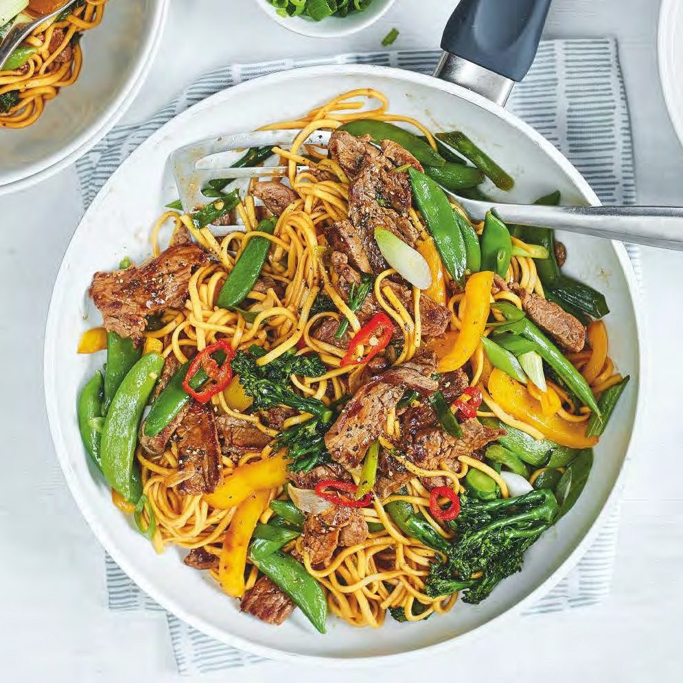 SW recipe: Aromatic beef noodles