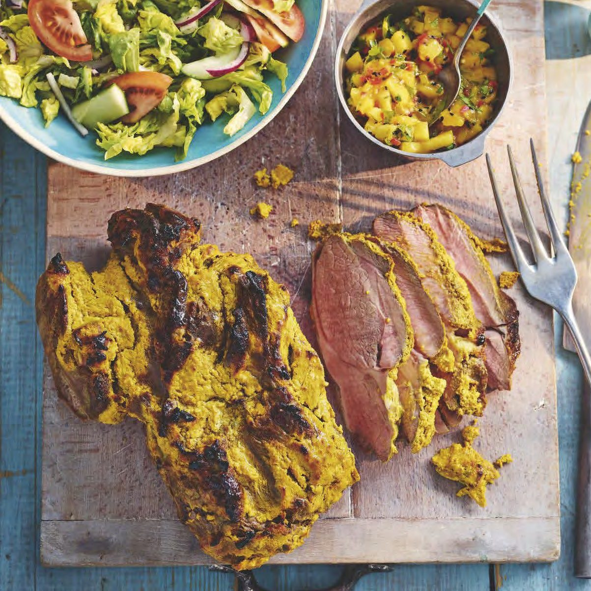 SW recipe: Indian lamb with fresh mango chutney
