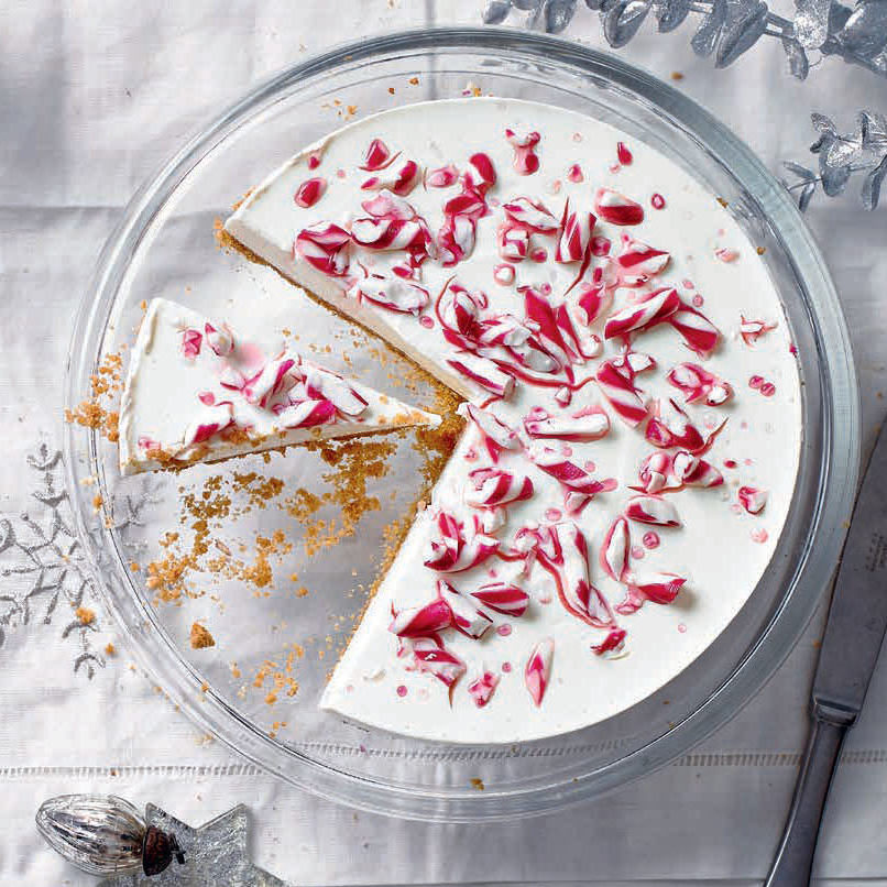 SW recipe: Candy-cane cheesecake