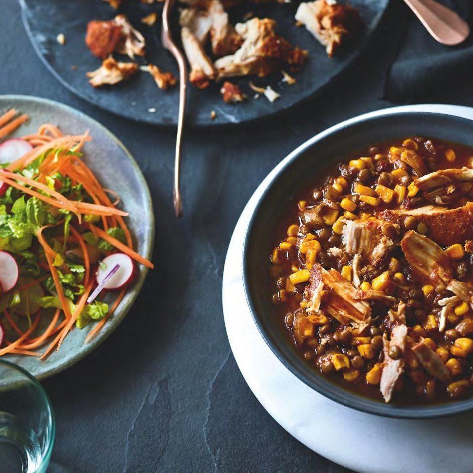 SW recipe: Slow-cooker Mexican pork pozole
